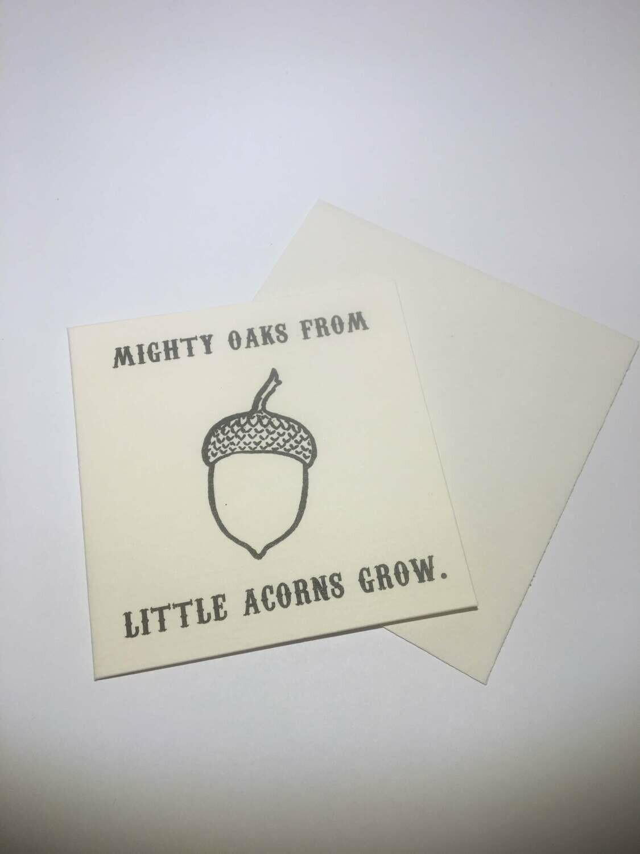 mini card-mighty oaks