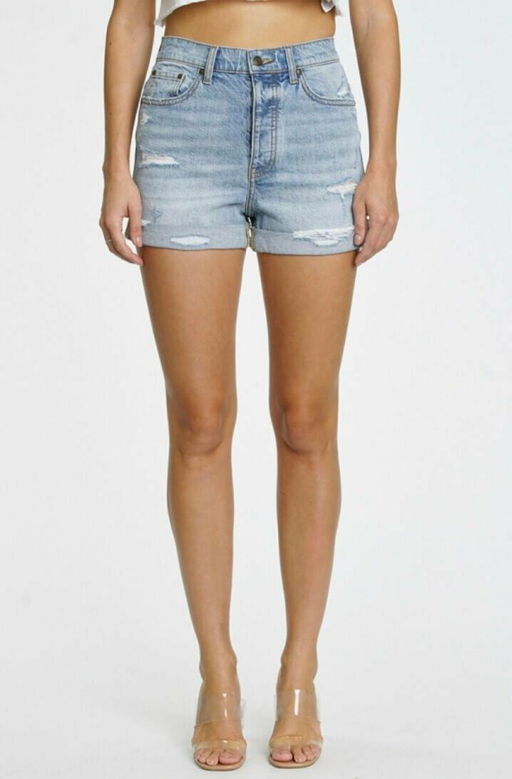 Olivia High Rise Mom Shorts