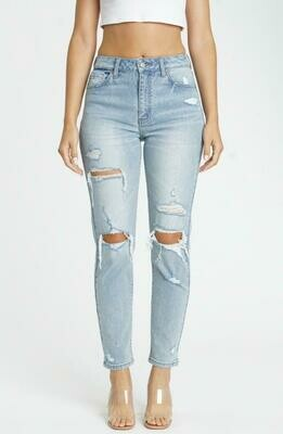 Tobi High Rise Mom Jeans