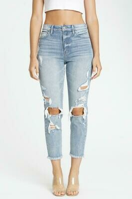 Tobi Super High Rise Mom Jeans