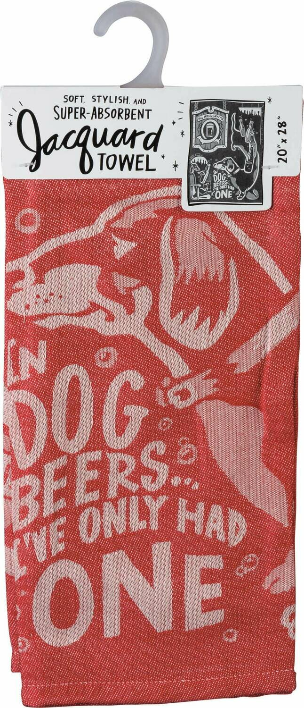 Towel-Dog Beers