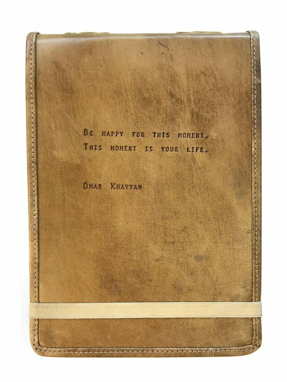 Omar Khayyah Leather Journal