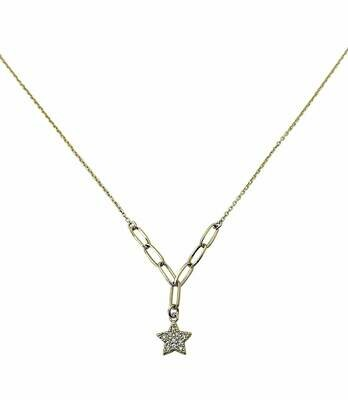 Cz Star Necklace /20389