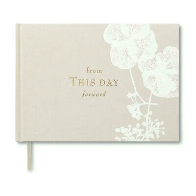 Wedding Guest Book-From This Day Forward