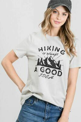 """Hiking"" Graphic Tee"