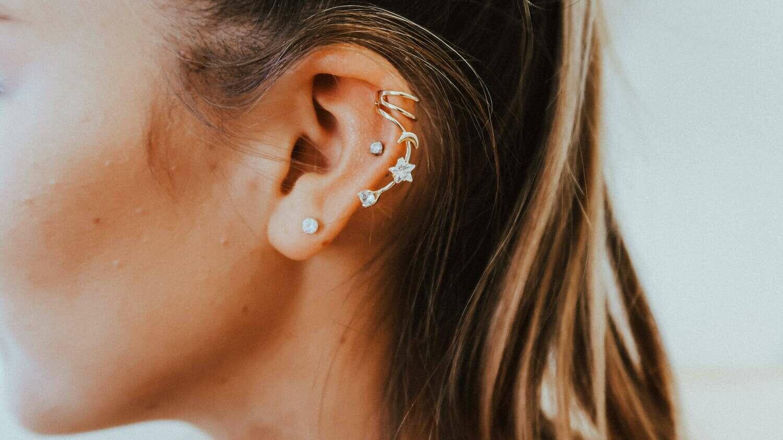 Moon & Star Ear Cuff