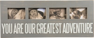 You Are Our Greatest Adventure Photo Frame Quad