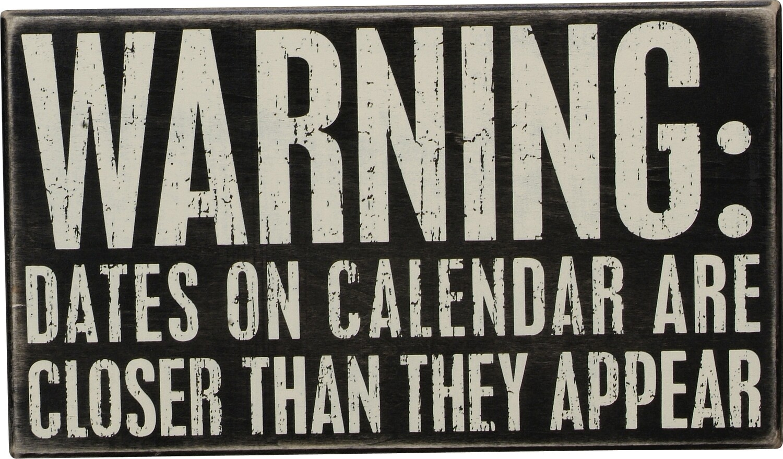 Warning:Dates