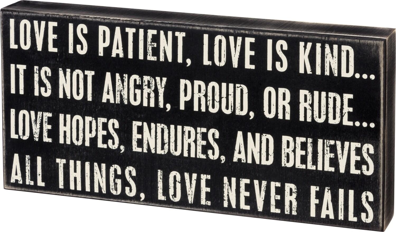 Love is Patient /17787