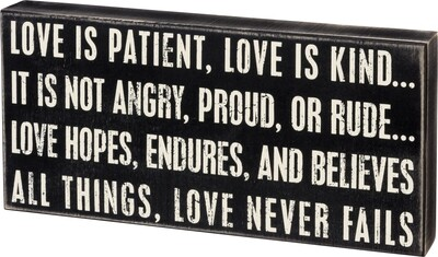 Love is Patient /17787