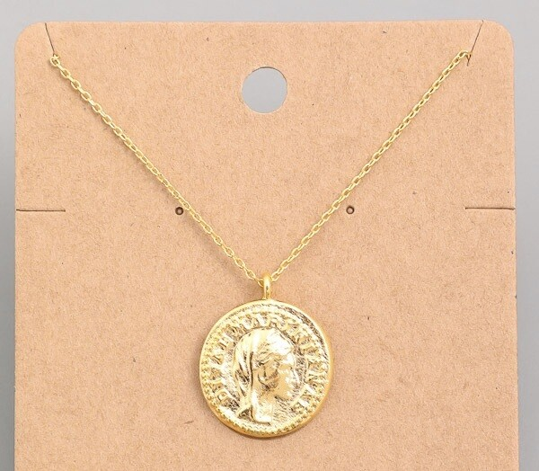 Gold Coin Necklace