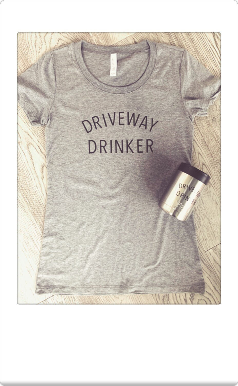 Driveway Drinker Tee