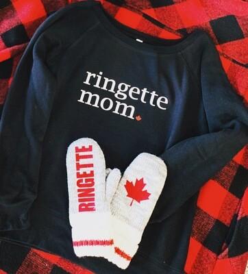 Ringette Mom Sweater