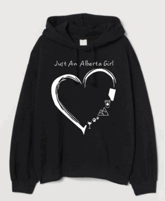 Alberta Girl Hooded Sweatshirt