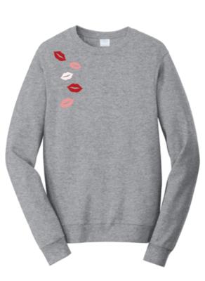 Sweet Lips Crew Sweatshirt
