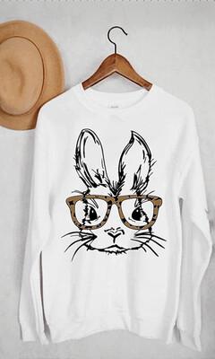 Leopard Glasses Bunny