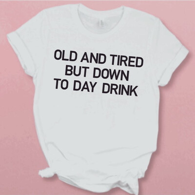 Old And Tired Tee