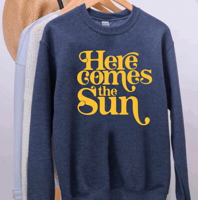 Here Comes The Sun Sweater