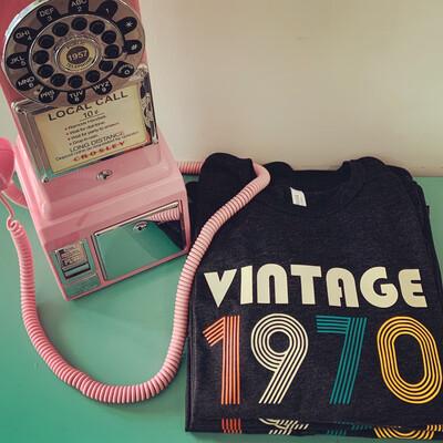 Vintage Birthday Tee