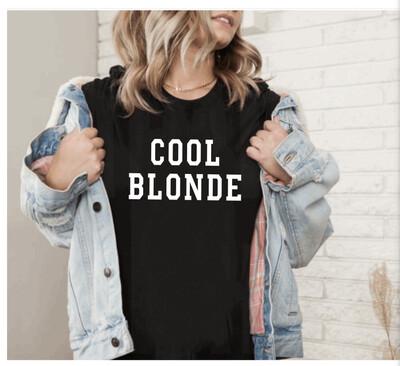 Cool Blonde Tee