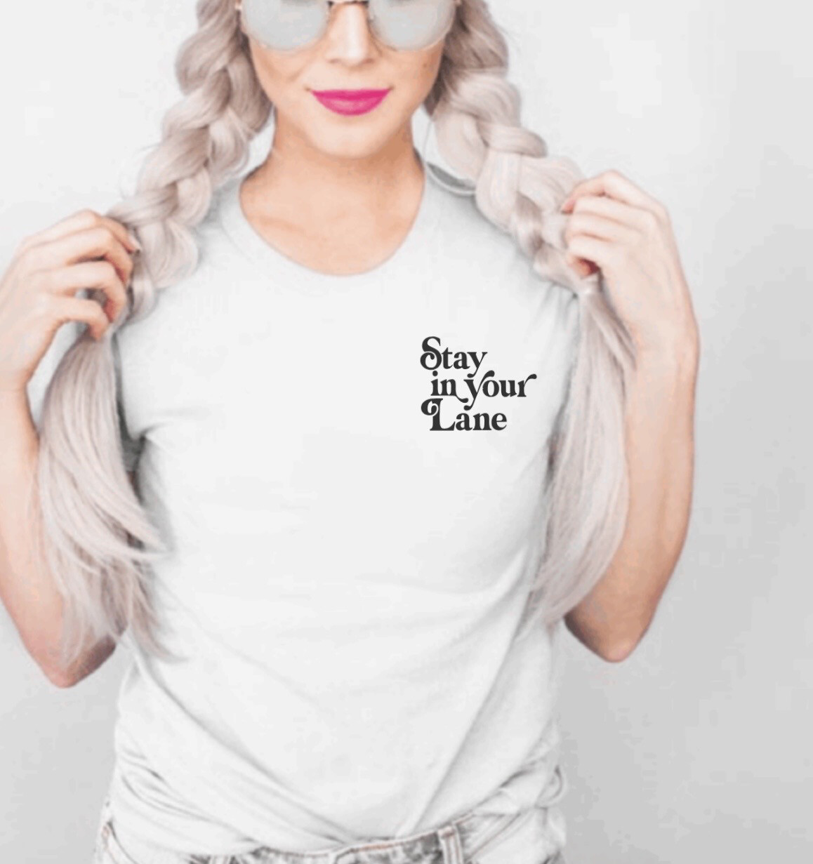 Stay In Your Lane Tee