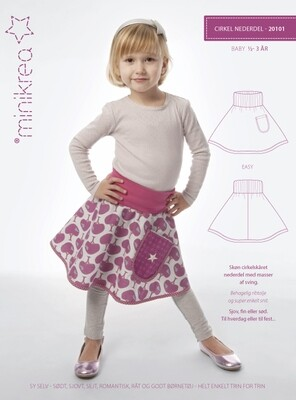 Sewing pattern for Circle Skirt
