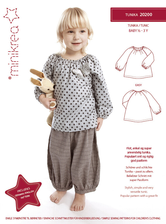 Sewing pattern forTunic