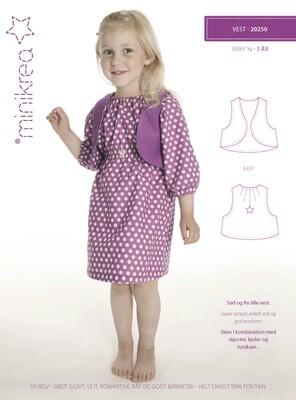 Sewing pattern Bolero