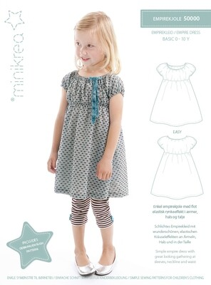 Sewing pattern for Empire dress