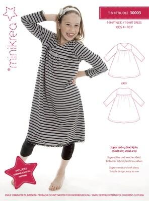 Sewing pattern for Full skirt dress
