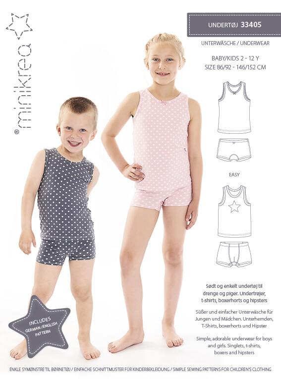 Sewing pattern Underwear