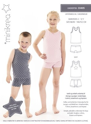 Sewing pattern Underwear