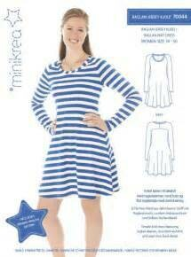 Sewing pattern for Raglan Knit Dress