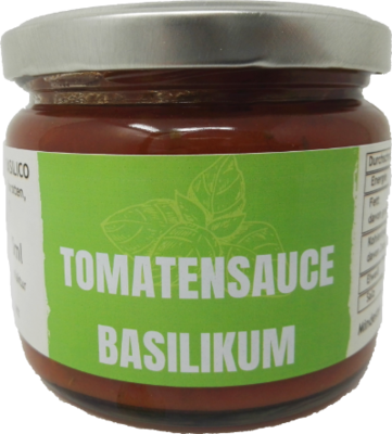 Tomatensauce Basilikum a 280g (100g/1,61€)
