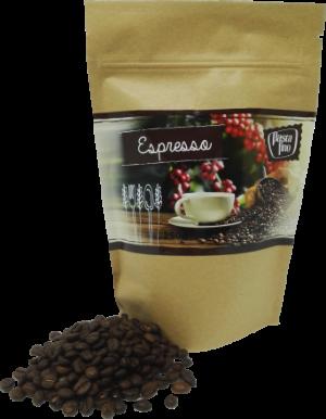 Espresso Pasta fino - vollmundiger kräftiger Röstkaffee 250g (100g/2,80€)