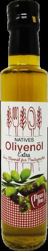 natives Olivenöl extra - das Olivenöl für Pastagerichte 250ml (100ml/3,16€)