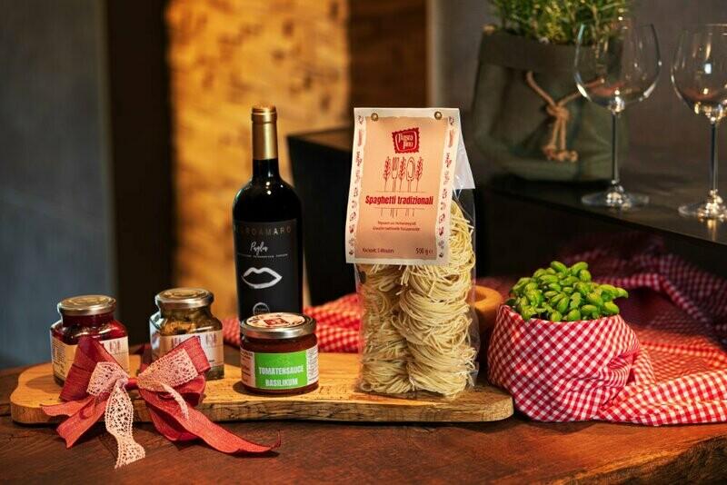 Pasta fino`s Geschenkbox N°1  GENUSS VERSCHENKEN 35,00 € NETTO