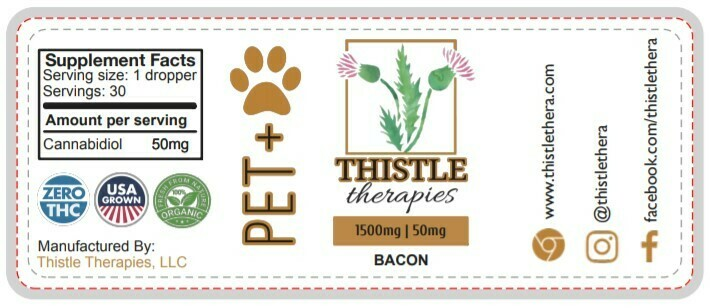 Thistle PET+ Dog & Cat Tincture