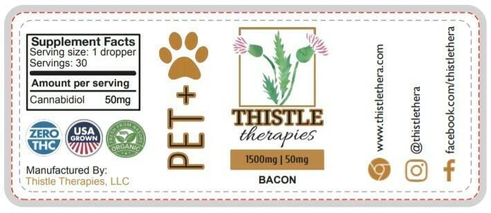 Thistle PET+ Dog & Cat Tincture