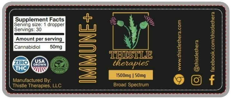 Thistle IMMUNE+ Broad Spectrum Tincture