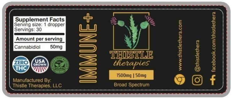 Thistle IMMUNE+ Broad Spectrum Tincture