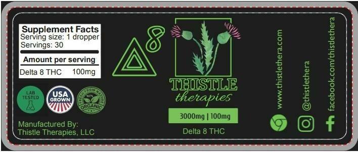 3000mg Delta-8 THC Tincture