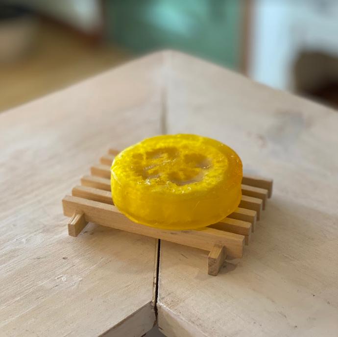 Lemon Sage Loofah Soap