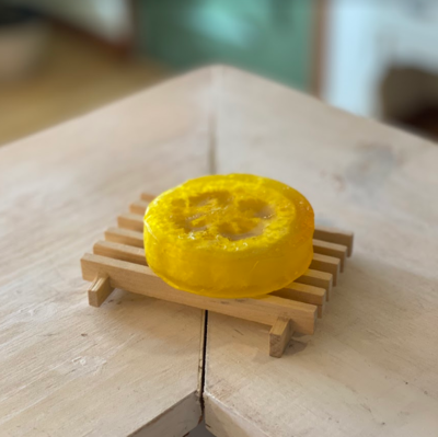 Lemon Sage Loofah Soap