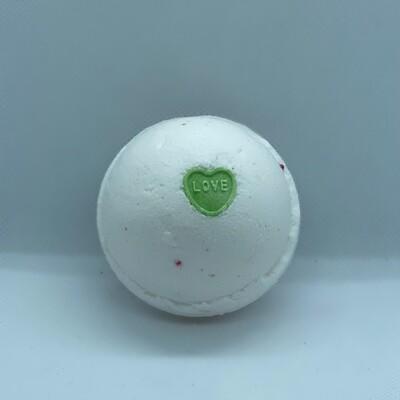 Candy Hearts (Cherry Almond) Bath Bomb