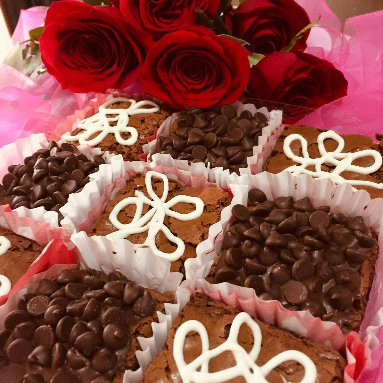 Caja Brownies de San Valentín