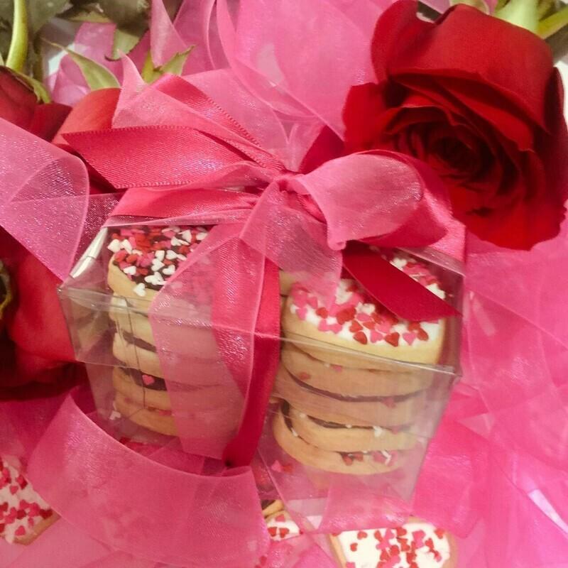 Galletas Mini Corazones San Valentín