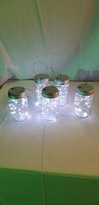 White fairy lights