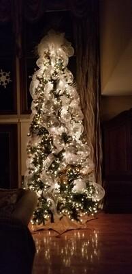 Holiday Trees, garland