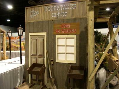 Western Undertaker Building Facade